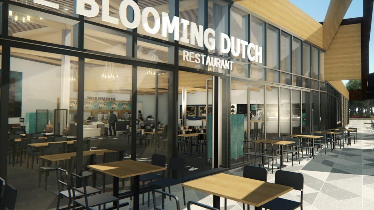 Blooming Dutch - ingang