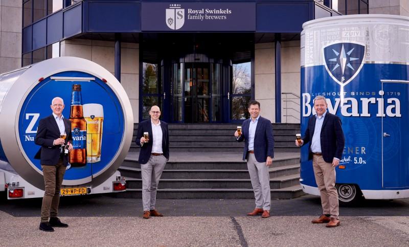 Albron kiest voor samenwerking met Royal Swinkels Family Brewers